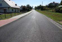 Photo of Zmodernizowano następny odcinek drogi w Dębnie