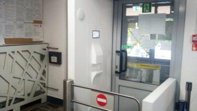 Photo of Automatyczna bramka do mierzenia temperatury w brzeskim szpitalu