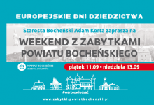 Photo of Weekend z zabytkami Powiatu Bocheńskiego