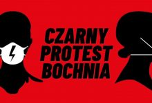 Photo of Bochnia / Czarny protest przed biurem posła Stanisława Bukowca / 25 października 2020 r.