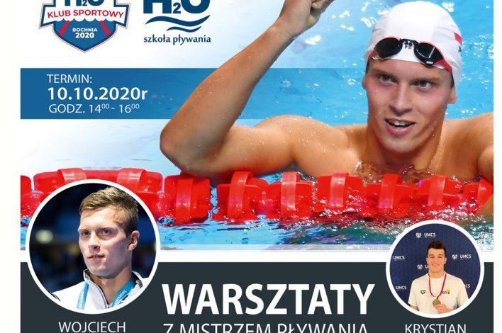 Photo of V Warsztaty z Mistrzem Pływania – Wojciech Wojdak i Krystian Bałabuch w Bochni